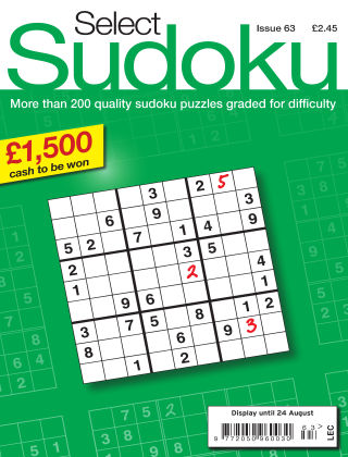 Select Sudoku Issue 063