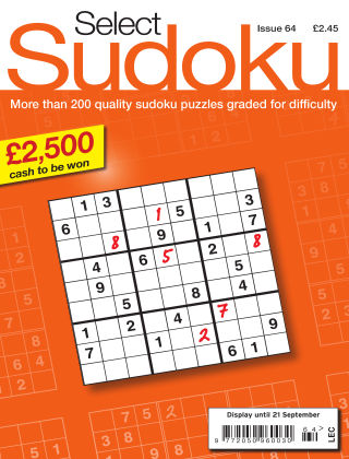 Select Sudoku Issue 064