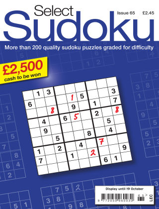 Select Sudoku Issue 065
