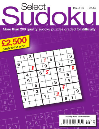Select Sudoku Issue 066