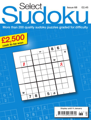 Select Sudoku Issue 068