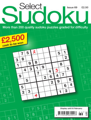Select Sudoku Issue 069