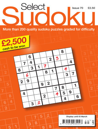 Select Sudoku Issue 070