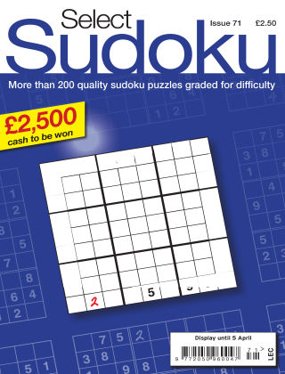 Select Sudoku Issue 071