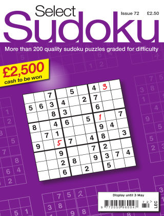 Select Sudoku Issue 072