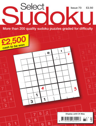 Select Sudoku Issue 073