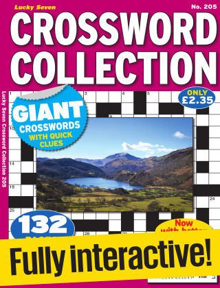 Lucky Seven Crossword Collection Issue 205