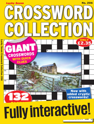 Lucky Seven Crossword Collection Issue 206