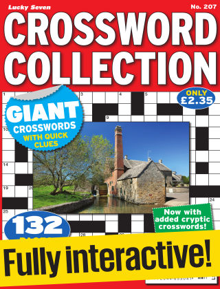 Lucky Seven Crossword Collection Issue 207