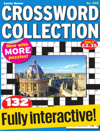 Lucky Seven Crossword Collection Issue 208
