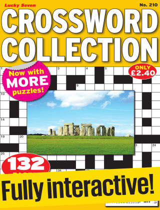 Lucky Seven Crossword Collection Issue 210