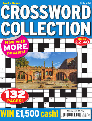 Lucky Seven Crossword Collection Issue 212
