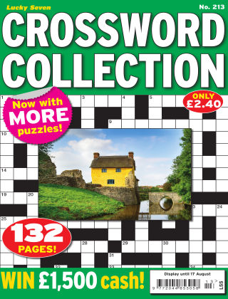 Lucky Seven Crossword Collection Issue 213