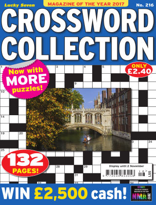Lucky Seven Crossword Collection Issue 216