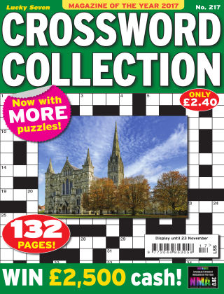 Lucky Seven Crossword Collection Issue 217