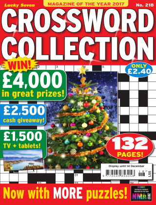 Lucky Seven Crossword Collection Issue 218