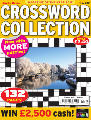 Lucky Seven Crossword Collection Issue 219