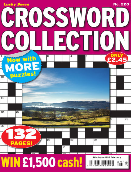 Lucky Seven Crossword Collection January 19, 2018 00:00