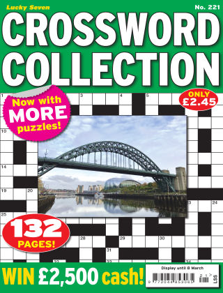 Lucky Seven Crossword Collection Issue 221