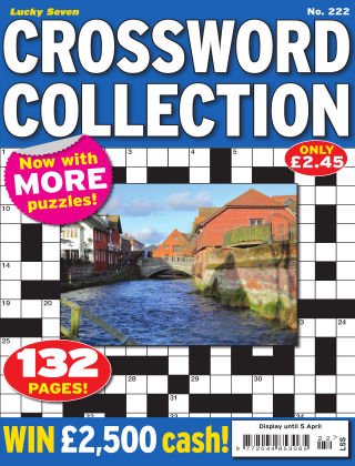 Lucky Seven Crossword Collection Issue 222