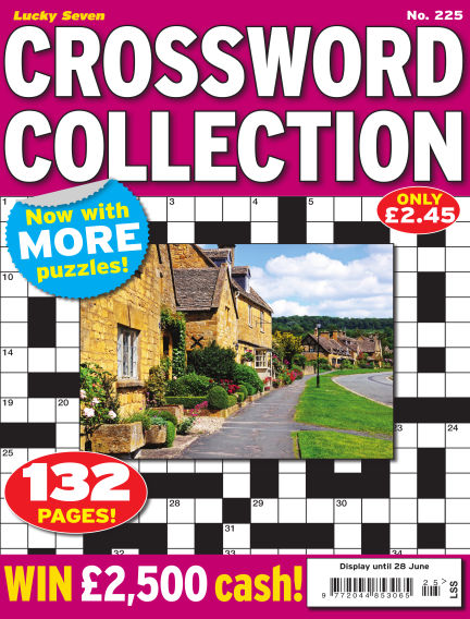 Lucky Seven Crossword Collection May 31, 2018 00:00