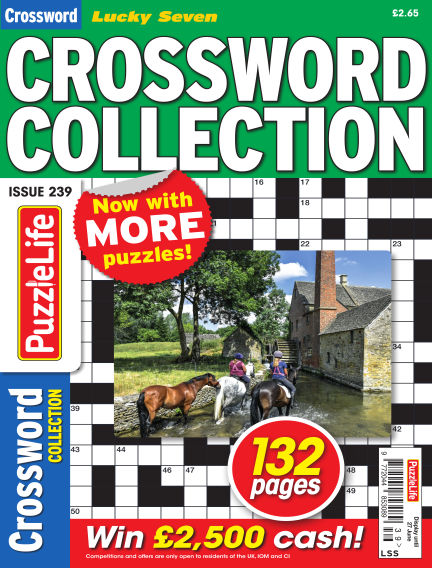 Lucky Seven Crossword Collection May 30, 2019 00:00