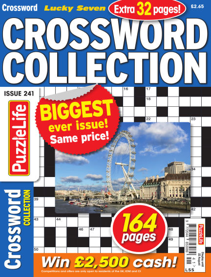Lucky Seven Crossword Collection July 25, 2019 00:00