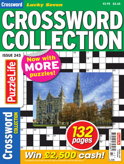 Lucky Seven Crossword Collection September 19, 2019 00:00