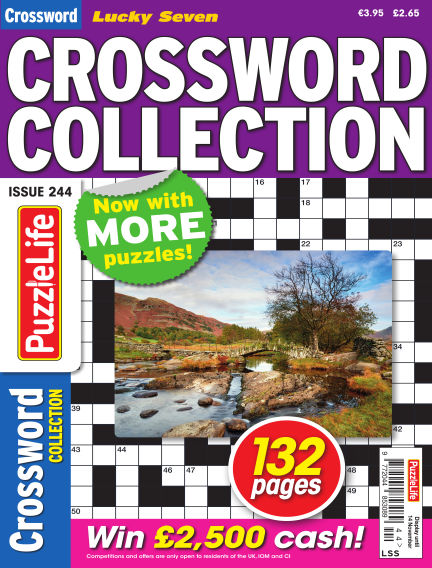 Lucky Seven Crossword Collection October 17, 2019 00:00