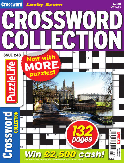 Lucky Seven Crossword Collection January 09, 2020 00:00