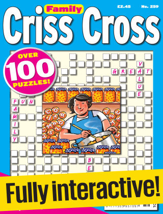 Family Criss Cross Issue 259