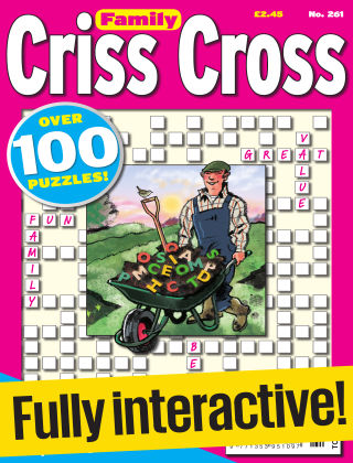 Family Criss Cross Issue 261