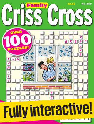Family Criss Cross Issue 262