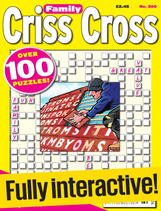 Family Criss Cross Issue 260