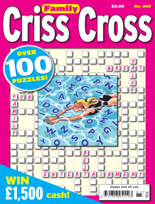 Family Criss Cross Issue 265