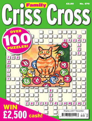 Family Criss Cross Issue 270