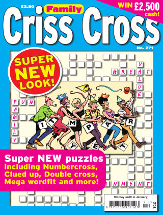 Family Criss Cross Issue 271