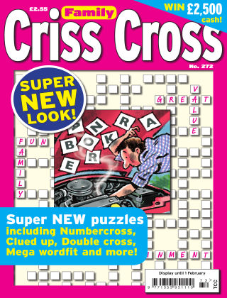 Family Criss Cross Issue 272