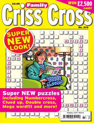 Family Criss Cross Issue 273