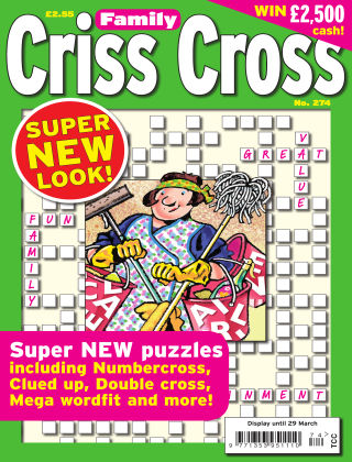 Family Criss Cross Issue 274