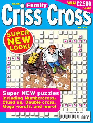 Family Criss Cross Issue 275