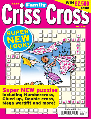 Family Criss Cross Issue 276