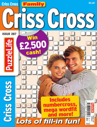 Family Criss Cross Issue 287