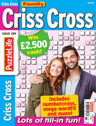 Family Criss Cross Issue 289