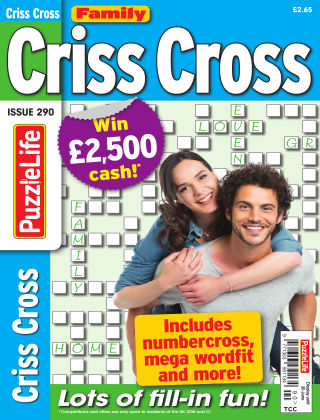 Family Criss Cross Issue 290