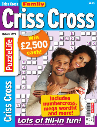 Family Criss Cross Issue 291