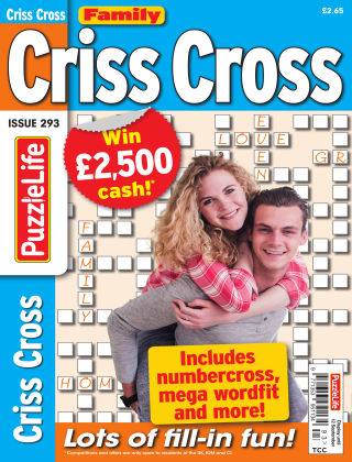 Family Criss Cross Issue 293