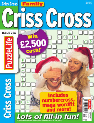Family Criss Cross Issue 296