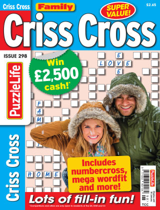 Family Criss Cross Issue 298