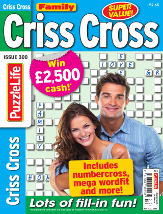 Family Criss Cross Issue 300